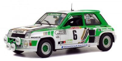 SOLIDO 1/18scale Renault sunk turbo Gr. B 1985 RALLYE DE LOZERE # 6  [No.S1801303]