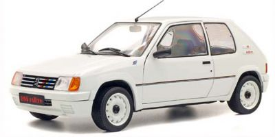 SOLIDO 1/18scale Peugeot 205 Rally 1.9L Mk.I 1988 (White)  [No.S1801701]
