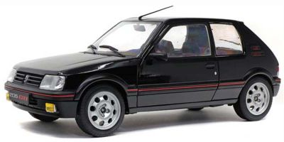 SOLIDO 1/18scale Peugeot 205 GTI 1.9L Mk.II 1990 (Black)  [No.S1801707]