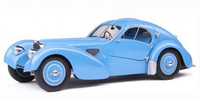 SOLIDO 1/18scale Bugatti Type 57 SC Atlantic T35 1937 (Bright Blue)  [No.S1802104]
