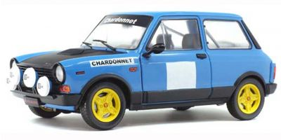 SOLIDO 1/18scale Autobianchi A112 Mk.V Abarth Rally Chardonnay 1980 (Blue)  [No.S1803801]