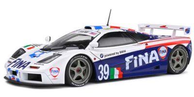 SOLIDO 1/18scale McLaren F1 GTR 24H Le Mans 1996 # 39 (White / Blue)  [No.S1804103]