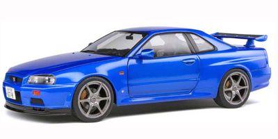 SOLIDO 1/18 日産 スカイライン R34 GT-R (ブルー) S1804301