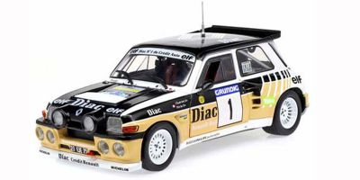 SOLIDO 1/18scale Renault 5 Maxi Duval Rally 1986  [No.S1804705]