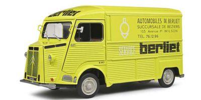 SOLIDO 1/18scale Citroen Type HY Berliet Service 1969 (Yellow)  [No.S1804814]