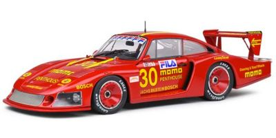 SOLIDO 1/18scale Porsche 935 Moby Dick 24H Le Mans 1982 # 30 (Red)  [No.S1805403]