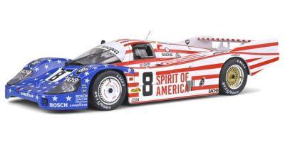 SOLIDO 1/18scale Porsche 956LH 24H Le Mans 1986 # 8 (Stars & Stripes)  [No.S1805503]