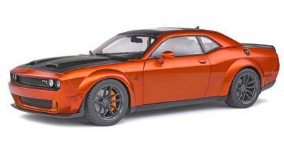 SOLIDO 1/18scale Dodge Challenger SRT Hellcat Wide Body (Orange Metallic)  [No.S1805703]