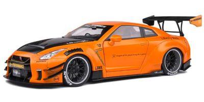 SOLIDO 1/18scale Nissan GT-R (R35) LB ★ WORKS 2020 (orange)  [No.S1805803]