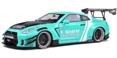 SOLIDO 1/18scale Nissan GT-R (R35) LB ★ WORKS 2020 (blue)  [No.S1805804]