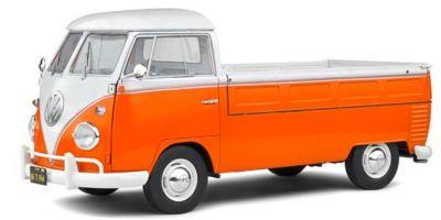 SOLIDO 1/18scale Volkswagen T1 Pickup 1950 (Orange / White)  [No.S1806701]