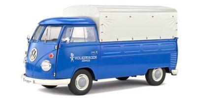 SOLIDO 1/18scale Volkswagen T1 Pickup 1950 (Blue)  [No.S1806702]