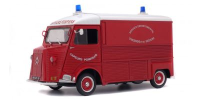 SOLIDO 1/18scale Citroen type ash fire engine 1969 red  [No.S1850013]