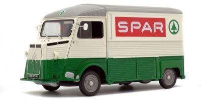 SOLIDO 1/18scale Citroen type ash SPAR 1969 cream / green  [No.S1850015]