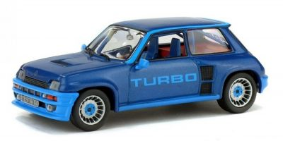 SOLIDO 1/43scale Renault sunk turbo 1980 blue  [No.S4301300]