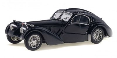 SOLIDO 1/43scale Bugatti Atlantic Type 57SC 1937 Black  [No.S4302500]