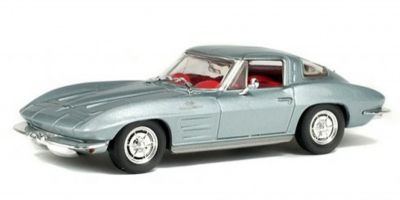 SOLIDO 1/43scale Chevrolet Corvette Stingray Ray Light Blue  [No.S4400800]