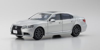 KYOSHO 1/43scale Lexus LS460 F SPORT Sonic Silver  [No.KS03659S]