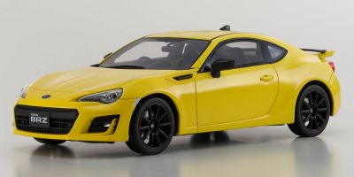 SAMURAI 1/18scale SUBARU BRZ GT (Yellow Edition Charlesite Yellow)  [No.KSR18027Y]