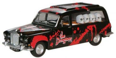 """OXFORD 1/76scale Daimler DS420 hearse """"London Dungeon""""  [No.OXSP054]"""