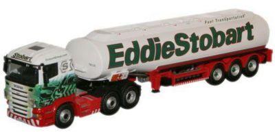 OXFORD 1/76scale Scania Highline Tank Truck Eddie Stobart  [No.OXSTOB013]