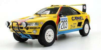 TOPMARQUES 1/18scale Peugeot 405 T-16 CAMEL 1990 Paris-Dakar Rally Winner A.Vatanen / B.Berglund  [No.TMPD003A]