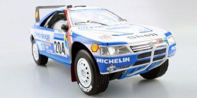 TOPMARQUES 1/18scale Peugeot 405 T16 No.204 1989 Paris Dakar Winner (Pioneer)  [No.TMPD03C]