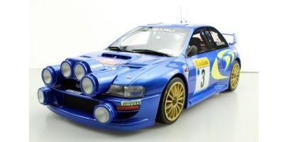 TOPMARQUES 1/12scale Subaru Impreza S4 WRC No 3 1998 Monte Carlo Rally McRae / Grist  [No.TMR12-02A]