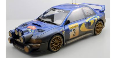 TOPMARQUES 1/12scale Subaru Impreza S4 WRC No 3 1998 Monte Carlo Rally McRae / Gurst dirty ver. (Weathering paint)  [No.TMR12-02AD]