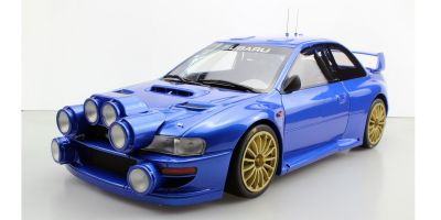 TOPMARQUES 1/12scale Subaru Impreza S4 WRC Blue  [No.TMR12-02AW]