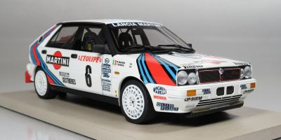"TOPMARQUES 1/18scale Launcher Delta HF ""Martini"" Monte Carlo Rally winner 1987 No.6 (Biasion)  [No.TOP024A]"