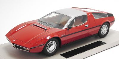 TOPMARQUES 1/18scale マセラティ ボーラ 1977 レッド [No.TOP025A]