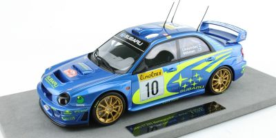 TOPMARQUES 1/18scale Subaru Impreza 2002 No.10 Monte Carlo Rally winner Makinen  [No.TOP037A]