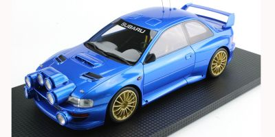 TOPMARQUES 1/18scale Subaru Impreza S4 WRC Blue  [No.TOP040AW]