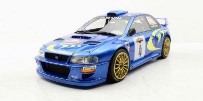 TOPMARQUES 1/18scale Subaru Impreza S4 WRC 2nd Place San Remo 1998  [No.TOP040C]