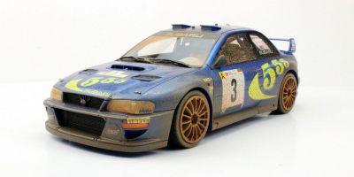 TOPMARQUES 1/18scale Subaru Impreza S4 WRC Portugal Winner 1998 Dirty  [No.TOP040DD]