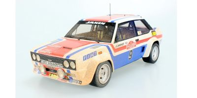 TOPMARQUES 1/18scale Fiat 131 Abarth No.9 1977 San Remo Winner Jean-Claude Andruet Weathering Dirty Paint  [No.TOP043AD]
