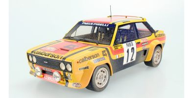 TOPMARQUES 1/18scale Fiat 131 Abarth No.12 1980 Rally Montecarlo Michele Mouton Weathering Dirty Paint  [No.TOP043BD]