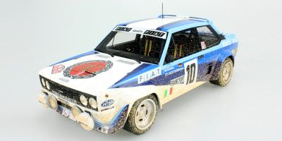 TOPMARQUES 1/18scale Fiat 131 Abarth No.10 1980 Monte Carlo Rally Winner W. Roll Weathering  [No.TOP043CD]