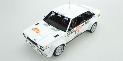 TOPMARQUES 1/18scale Fiat 131 Abarth No.2 1980 Sanremo Winner  [No.TOP043D]