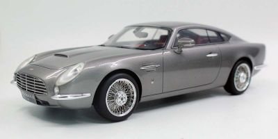 TOPMARQUES 1/18scale David Brown Speedback GT (Silver)  [No.TOP065A]