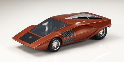 TOPMARQUES 1/18scale Lancia Stratos Zero concept (Copper: Red Dish Brown)  [No.TOP067A]