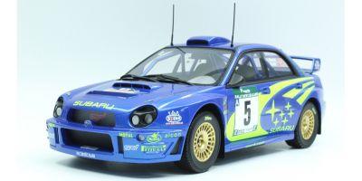 TOPMARQUES 1/18scale Subaru Impreza S7 555 WRC No.5 2001 New Zealand Winner  [No.TOP037B]
