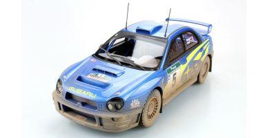 TOPMARQUES 1/18scale Subaru Impreza S7 555 WRC No.5 2001 New Zealand Winner (dirty paint)  [No.TOP037BD]