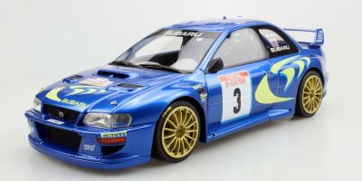 TOPMARQUES 1/18scale Subaru Impreza S4 No.3 Tool de Corse 1998 Winner C. McRae  [No.TOP040B]