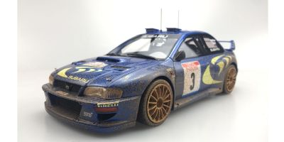 TOPMARQUES 1/18scale Subaru Impreza S4 No.3 Tool de Corse 1998 Winner C.McRae Weathering Paint  [No.TOP040BD]
