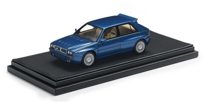 TOPMARQUES 1/43scale Lancia Delta Integrale Evoluzione (Blue Lagos)  [No.TOP43001D]