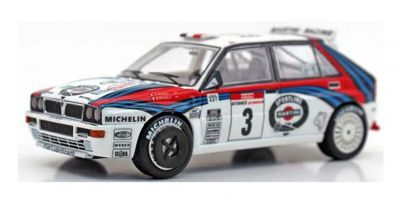 TOPMARQUES 1/43scale Lancia Delta Rally Tour de Corse 1992 No.3 Auriol/Occelli Winner  [No.TOP43004B]