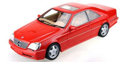 TOPMARQUES 1/43scale AMG Mercedes CL 600 7.0 Red  [No.TOP43006A]