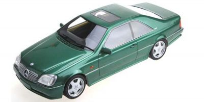 TOPMARQUES 1/43scale AMG Mercedes CL 600 7.0 Green  [No.TOP43006B]